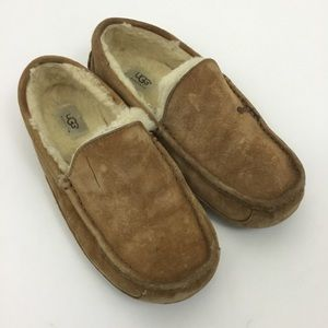 UGG 5775  suede slippers shearling lined